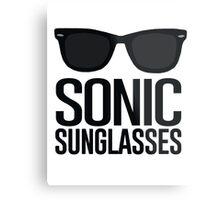 Sonic Sunglasses 2 Metal Print