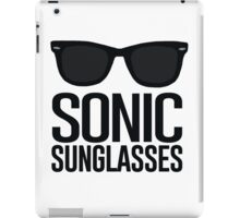 Sonic Sunglasses 2 iPad Case/Skin