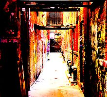 Painted Empty Alley by ObscuredTwist