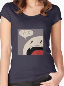 Punchline Yuk Women's Fitted Scoop T-Shirt
