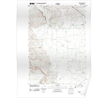 USGS Topo Map Oregon Turner 20110908 TM Poster