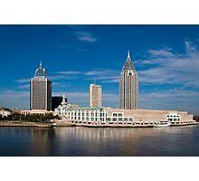 Mobile, Alabama Skyline Photographic Print