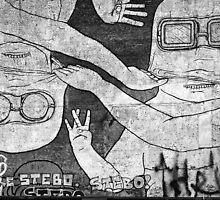 berlin graffiti by bigcamo