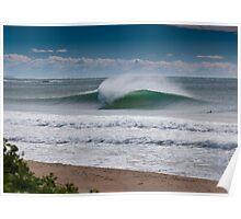 Wollongong City Beach Poster