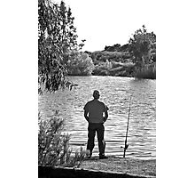 Waiting For The Fish To Bite Photographic Print