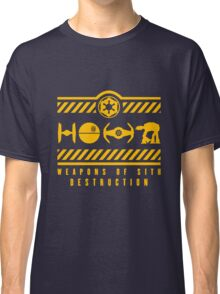 Weapons of Sith Destruction Exclusive Classic T-Shirt