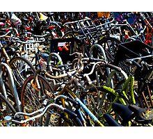 amsterdam bicycles Photographic Print