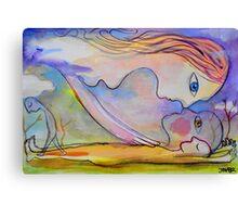 cloud dreaming Canvas Print