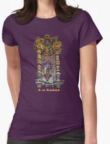 4 a Saint Womens Fitted T-Shirt