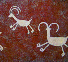 Boulder Petroglyphs Sticker