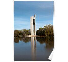 Carillon on Lake Burley Griffin Poster