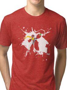 Protoman Paint Explosion Tri-blend T-Shirt
