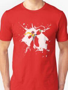 Protoman Paint Explosion Unisex T-Shirt