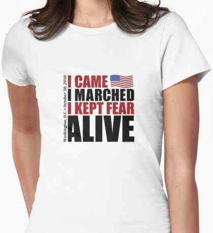 Kept Fear Alive - Light Womens Fitted T-Shirt