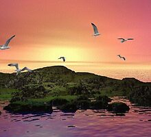 Pink Skies by Norma Jean Lipert