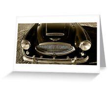 Austin Healey 3000 Mark II Greeting Card