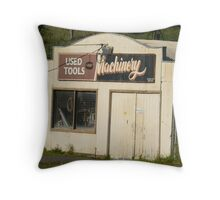 Used Tools and Machinery Throw Pillow