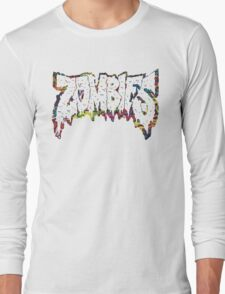 FLATBUSH ZOMBIES VIBRANT Long Sleeve T-Shirt