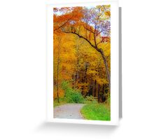Autumn Peak Colors Greeting Card