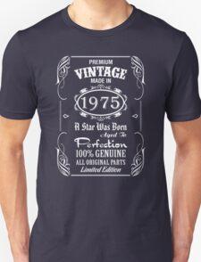 Premium Vintage Made In 1975 T-Shirt