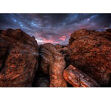 Over Boulders Photographic Print