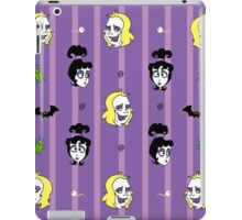 Beetlejuice Pattern - Stripes iPad Case/Skin