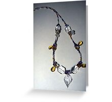 Air Elemental Necklace Greeting Card