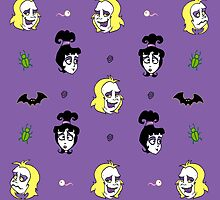 Beetlejuice Pattern by madamebat