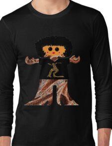 Country Line Dancer Rag Doll Long Sleeve T-Shirt