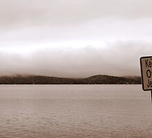View from jetty on Winnipesaukee by SPPhotography