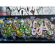 Grunge Graffiti Wall Photographic Print