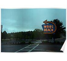 Weirs Beach Strip Poster