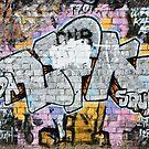 Grunge Fraffiti Wall. by yurix