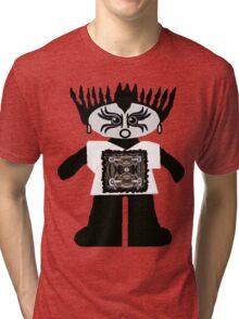 Goth Rag Doll Tri-blend T-Shirt