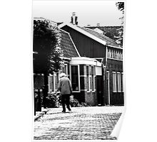 Walking in Edam Poster