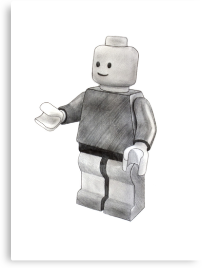Lego Man by axemangraphics