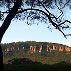Silhouette - Upper Kangaroo Valley NSW Australia by Martin Lomé