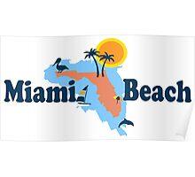 Miami Beach. Poster