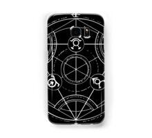 Black Alchemy Circle Samsung Galaxy Case/Skin