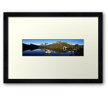 Cradle and the Boathouse Framed Print