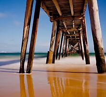 """""""Port Noarlunga Jetty"""" by Heather Thorning"""