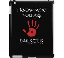 PSST iPad Case/Skin