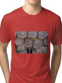 In Finn McCool's footsteps Tri-blend T-Shirt