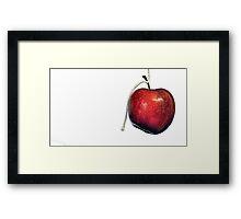 An apple a day ... Framed Print