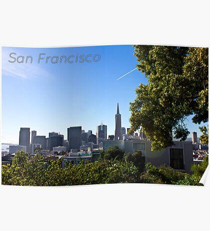 Down Town San Francisco Poster