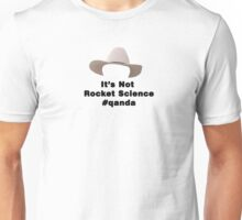 Katters Hat on #qanda Unisex T-Shirt
