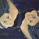 """""""Gemini""""...from """"Zodiac signs"""" series by dorina costras"""