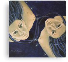 """Gemini""...from ""Zodiac signs"" series Canvas Print"