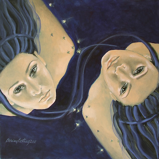 """Gemini""...from ""Zodiac signs"" series by dorina costras"