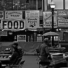 Food at Peavey Plaza by Mark Jackson
